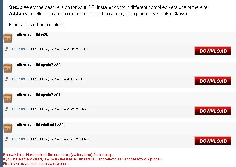 Ultra VNC v1 2 0 6 64bitに移行: KEIのフツーなBLOG
